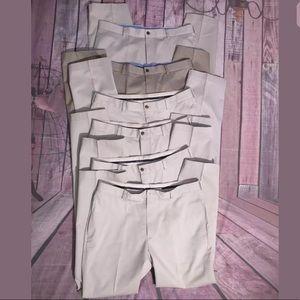 Brooks Brothers khaki chino Pants bundle of 6